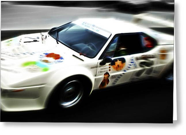 D700 Greeting Cards - 1980 BMW M1 PRoCar Greeting Card by Phil