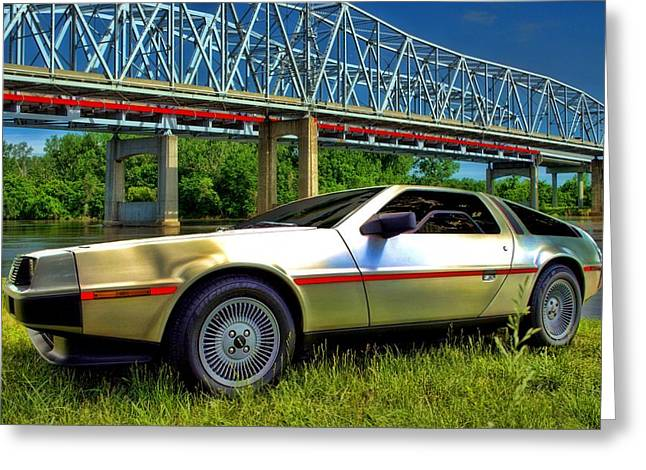 1981 Photographs Greeting Cards - 1981 DeLorean DMC12 Greeting Card by Tim McCullough