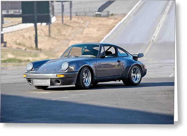 Transmission Greeting Cards - 1985 Porsche 911 Turbo Greeting Card by Dave Koontz