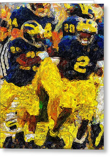 Woodson Greeting Cards - 1997 What a Year Greeting Card by John Farr