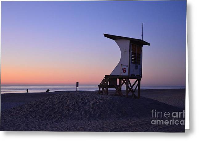 Interior Scene Greeting Cards - Pastel Sky At Sunrise Greeting Card by Bob Sample