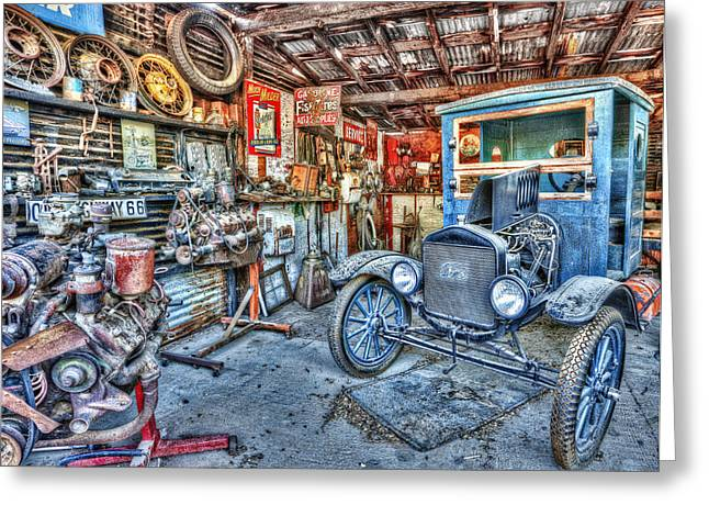 1919 Ford Model T Greeting Card by Robert Jensen