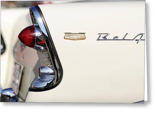 1956 Chevrolet Bel Air Greeting Card by Gordon Dean II