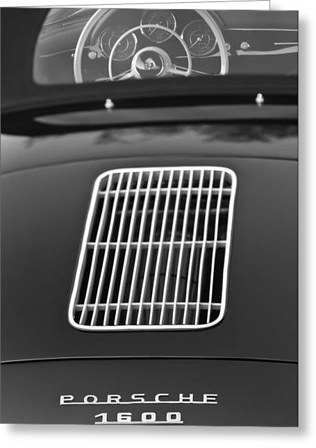 Professional Greeting Cards - 1962 Porsche 356 1600 BT6 Roadster Greeting Card by Jill Reger