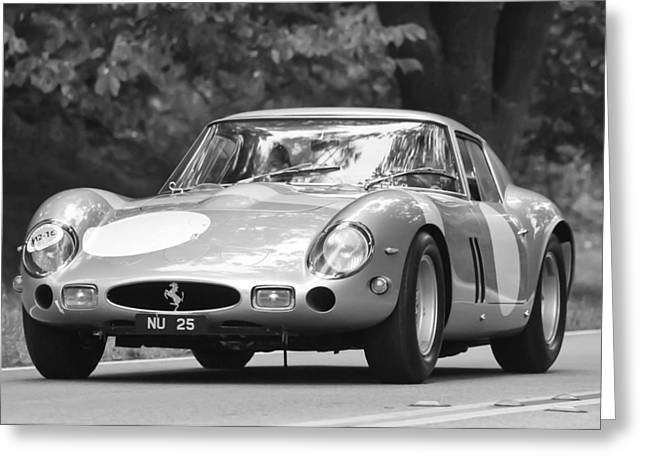 Best Images Photographs Greeting Cards - 1963 Ferrari 250 Gto Scaglietti Berlinetta Greeting Card by Jill Reger