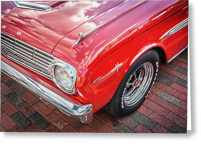 1963 Ford Falcon Sprint Convertible  Greeting Card by Rich Franco
