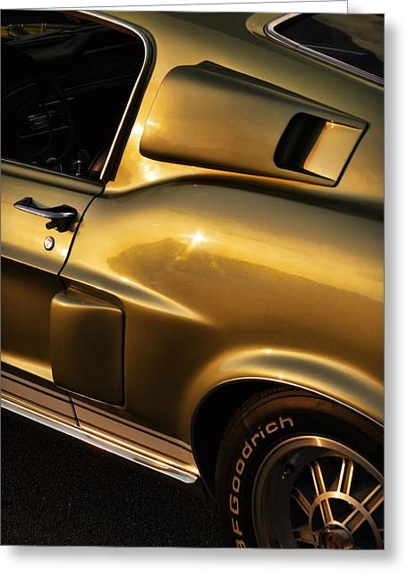 Autographed Art Digital Art Greeting Cards - 1968 Ford Mustang Shelby GT 350 Greeting Card by Gordon Dean II