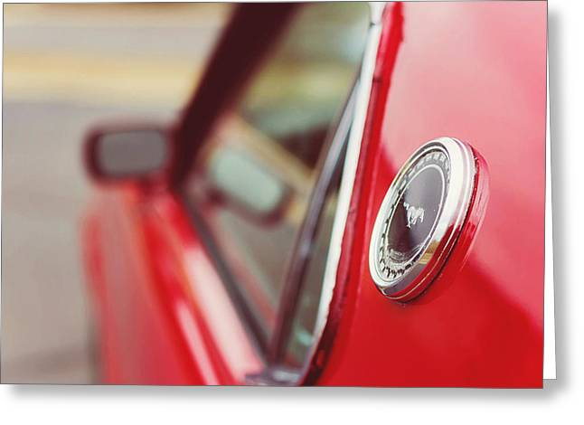 Mach I Greeting Card featuring the photograph 1969 Ford Mach I by Lisa Cann