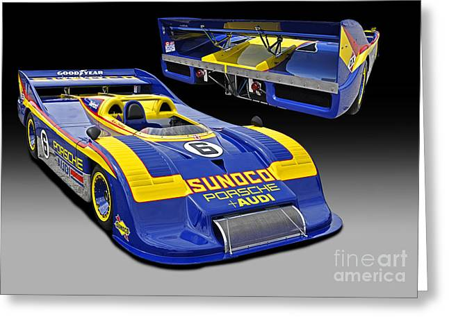 1973 Porsche 917-30 Race Car Greeting Card by Tad Gage