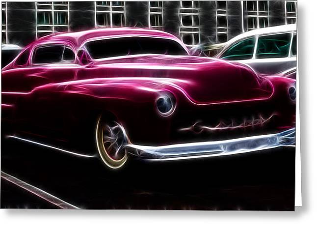 1949 Plymouth Greeting Cards - 50 Merc  Greeting Card by Steve McKinzie