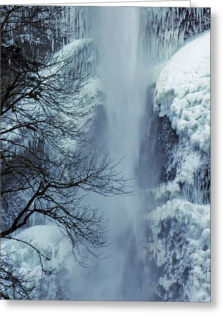Ruth Gorge Greeting Cards - A Frozen Moment Greeting Card by Ruth Taylor