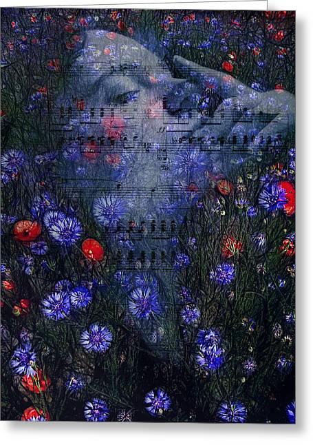 A Midsummer Night's Dream Greeting Card by Joachim G Pinkawa