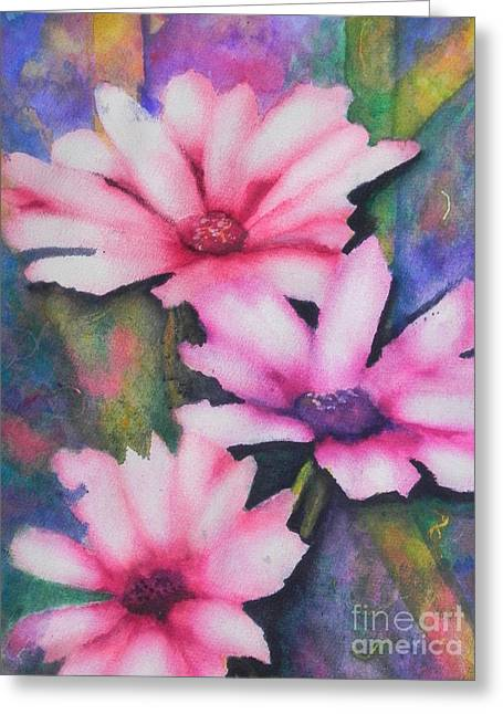 Fantasty Greeting Cards - A Touch Of Pink Greeting Card by Chrisann Ellis