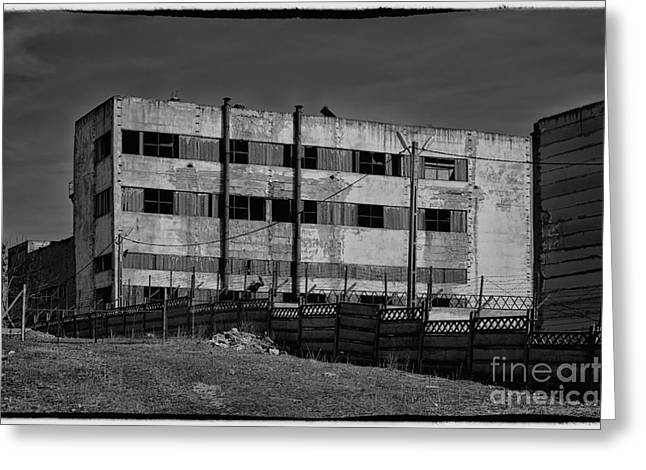 Economic Crisis Greeting Cards - Abandoned factory at Vadu Greeting Card by Gabriela Insuratelu