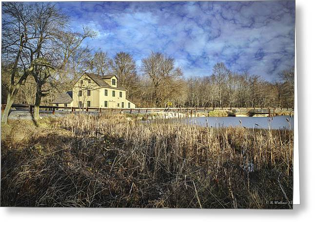 Nature Center Pond Greeting Cards - Abbotts Mill Greeting Card by Brian Wallace