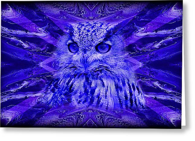 Mystery Greeting Cards - Abstract 131 Greeting Card by J D Owen