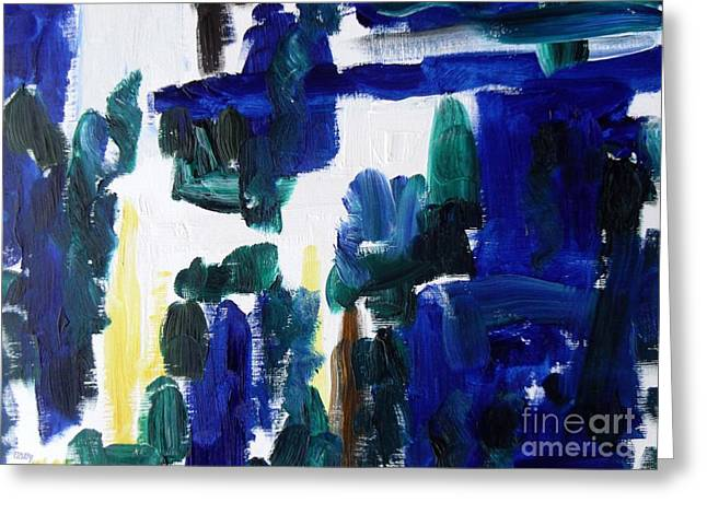Artcards Greeting Cards - Abstract 228 Greeting Card by Patrick J Murphy