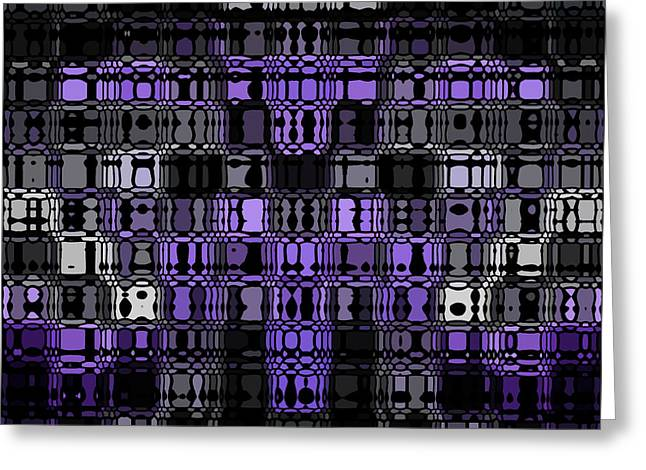 Abstract 90 Greeting Card by J D Owen