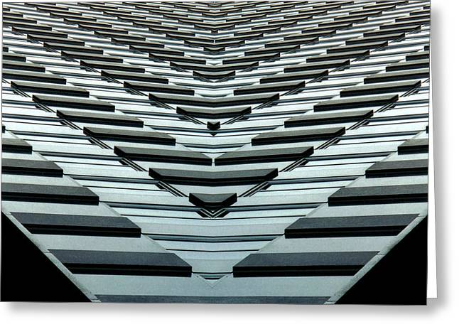 Abstract Buildings 7 Greeting Card by J D Owen