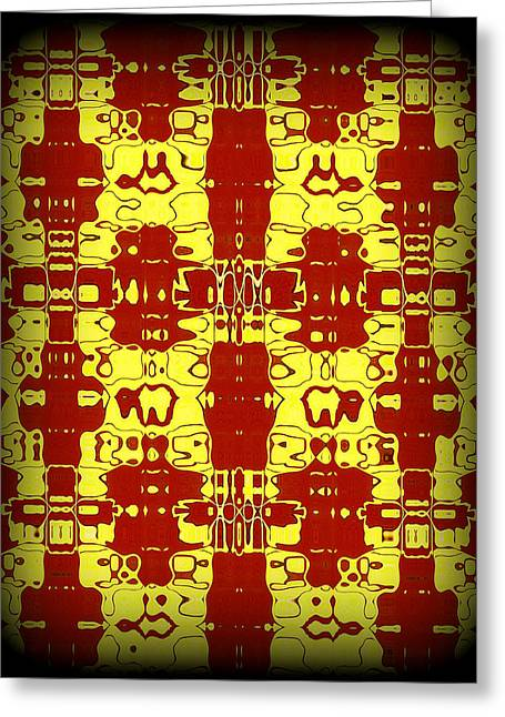 Psychedelic Greeting Cards - Abstract Series 8 Greeting Card by J D Owen