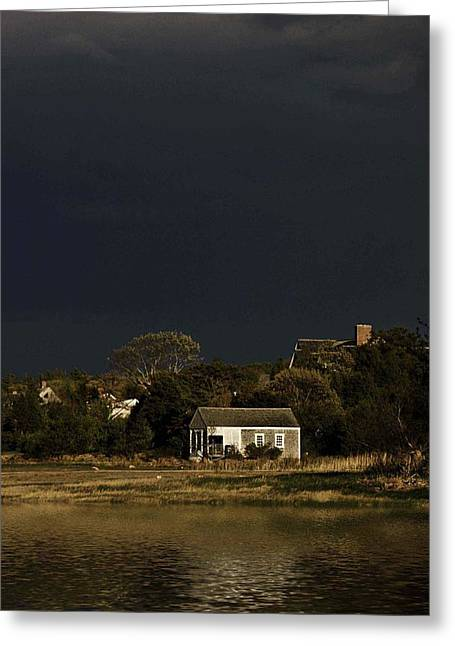 After The Storm Greeting Card by Keith Woodbury