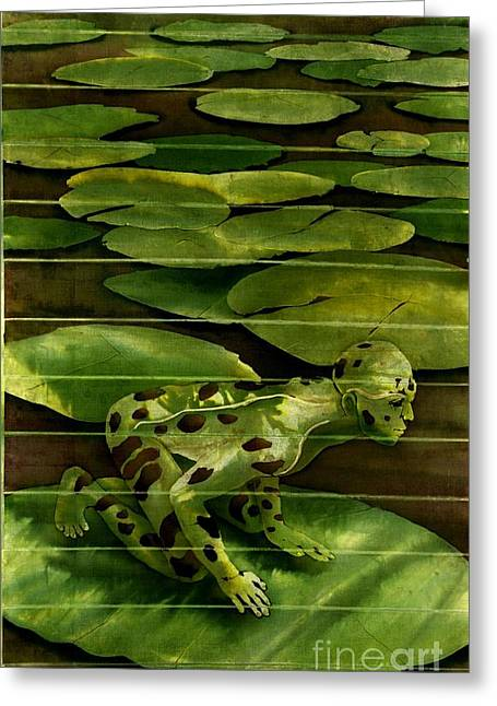 Morphed Paintings Greeting Cards - Almost a Prince Greeting Card by Robert D McBain