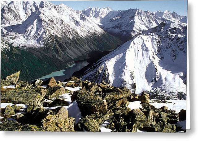 Altay Greeting Card by Anonymous