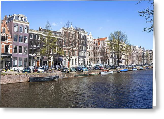 Amsterdam Greeting Card by Joana Kruse