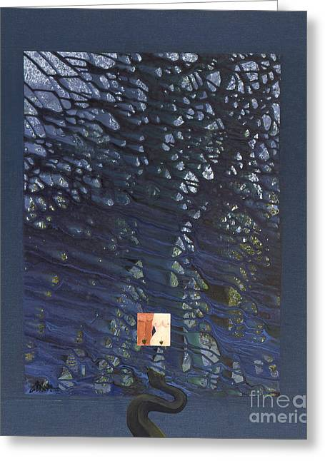 The Fruit Of Knowledge Greeting Cards - And Then There Was Cain Greeting Card by Craig Dykstra