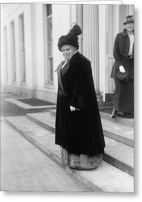 Women Suffrage Greeting Cards - Anna Howard Shaw Greeting Card by Granger