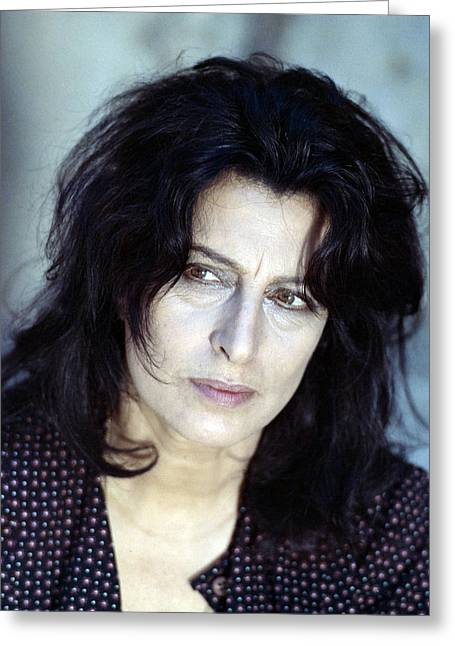 Anna Greeting Cards - Anna Magnani Greeting Card by Silver Screen