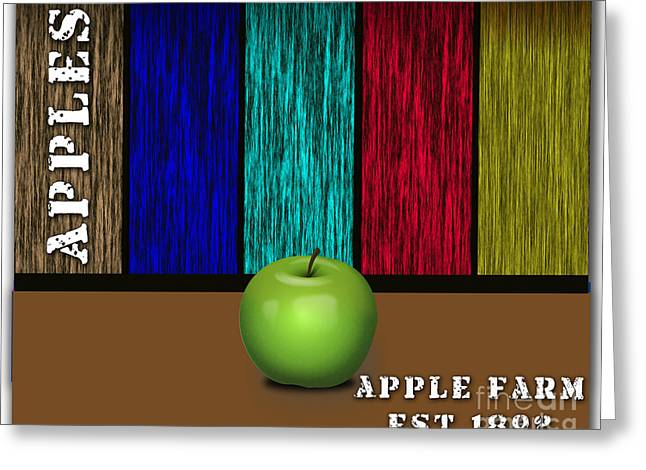 Fruits Greeting Cards - Apple Greeting Card by Marvin Blaine