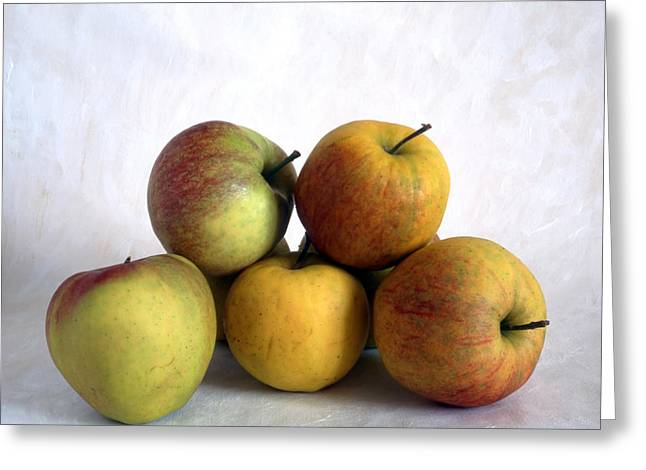 Discrimination Greeting Cards - Apples Greeting Card by IB Photo