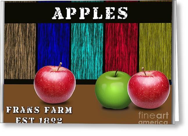 Fruits Greeting Cards - Apples Greeting Card by Marvin Blaine