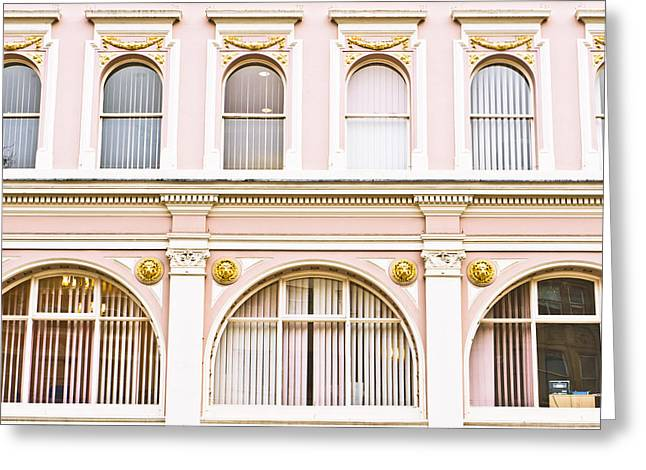 Converting Greeting Cards - Arch windows Greeting Card by Tom Gowanlock