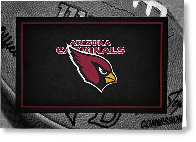 Arizona Greeting Cards Greeting Cards - Arizona Cardinals Greeting Card by Joe Hamilton