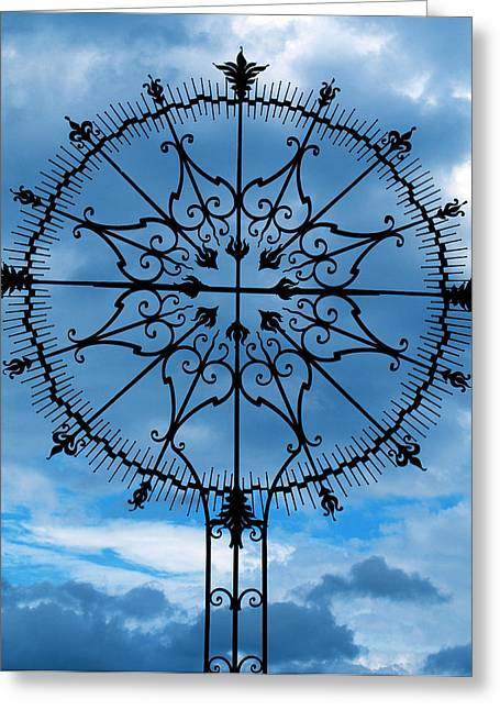 Gia Marie Houck Greeting Cards - Art in the Sky Greeting Card by Gia Marie Houck