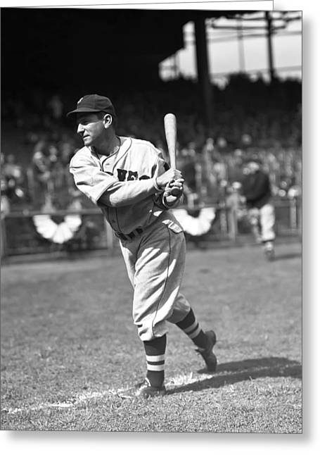 Third Baseman Greeting Cards - Arthur C. Pinky Whitney Greeting Card by Retro Images Archive