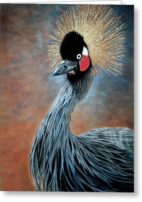 Children Greeting Cards - Attitude Bird Greeting Card by Carol McCarty