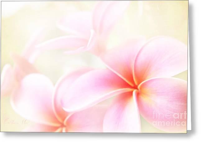 Square Format Greeting Cards - Awakening Love Greeting Card by Sharon Mau