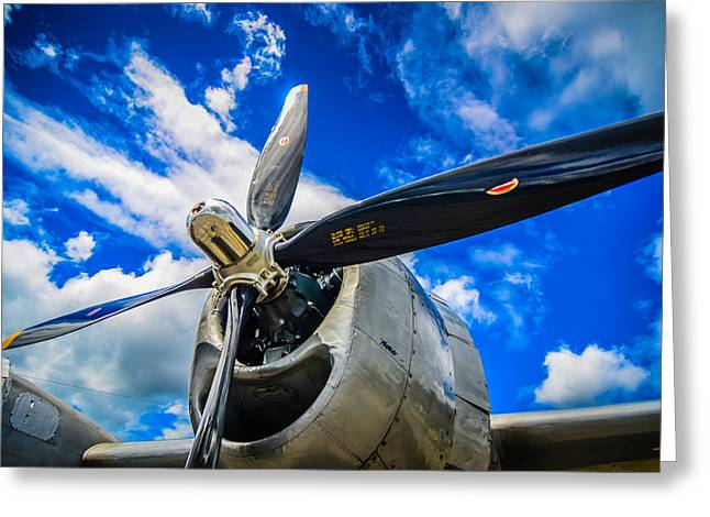 Heritage Foundation Greeting Cards - B-29 Superfortress  Greeting Card by Puget  Exposure