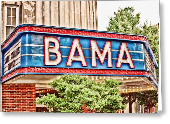 Alabama Art Greeting Cards - Bama Greeting Card by Scott Pellegrin