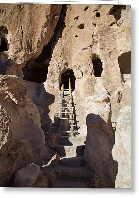 Bandelier National Monument Greeting Card by Jim West