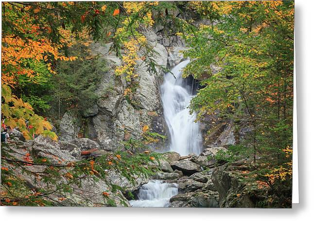 Western Massachusetts Greeting Cards - Bash Bish Falls Square Greeting Card by Bill  Wakeley