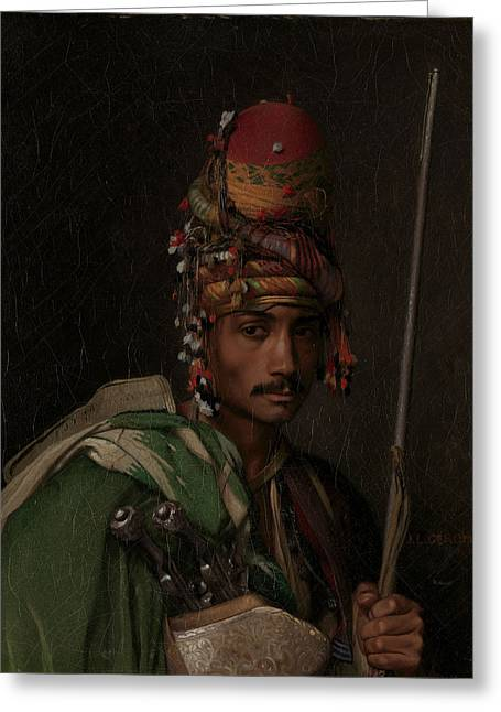 Gerome Greeting Cards - Bashi-Bazouk Greeting Card by Jean-Leon Gerome