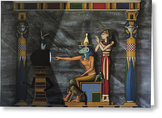 Horus Greeting Cards - B.C.  Before Cable Greeting Card by Richard Deurer