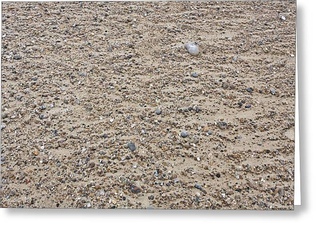 Sand Pattern Greeting Cards - Beach detail Greeting Card by Tom Gowanlock