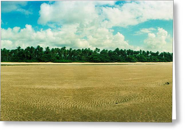 Sao Greeting Cards - Beach, Morro De Sao Paulo, Tinhare Greeting Card by Panoramic Images