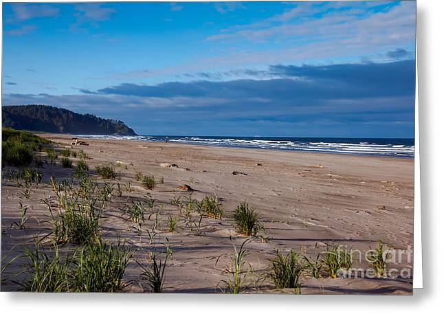 Wave Sublime Greeting Cards - Beach View Greeting Card by Robert Bales