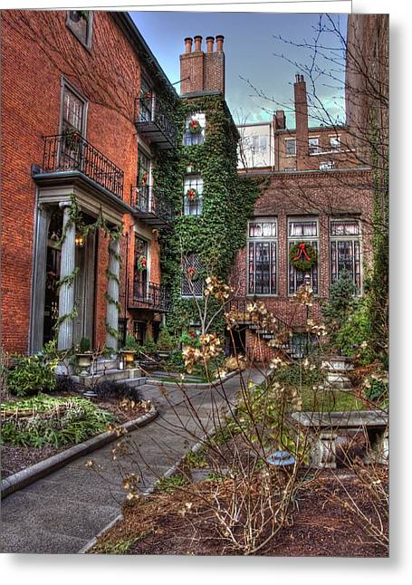 Desirable Greeting Cards - Beacon Hill Series Greeting Card by Joann Vitali